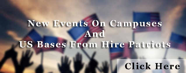 Hire Patriot new events